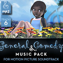 General & Comedy Music Pack