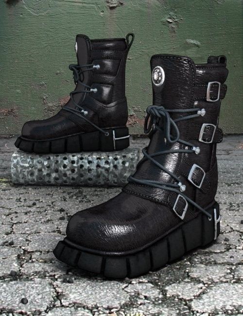 Sci Fi Boots for Genesis 2 Female(s)   3D Models and 3D Software ...