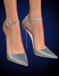 Stylish Shoes- Anklewrap Pumps for V4