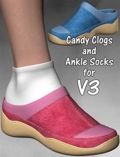 Candy Clogs & Ankle Socks for V3