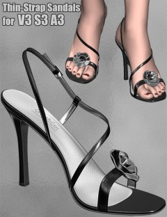 Thin-Strap Sandals for V3/S3/A3