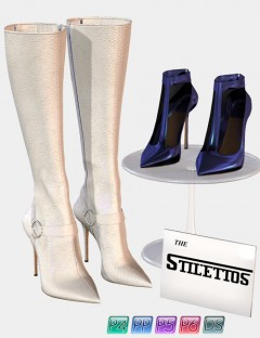 Stilettos Set- 'The Boots' for IV, GV, GJ, V4, & SSV