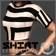 Shirt Collection: Cropped T-Shirt for Dawn