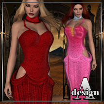 FATALE for Lady In Red - Dress