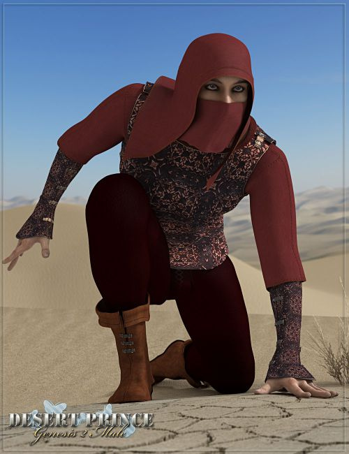 RW Desert Prince for Genesis 2 Male(s)
