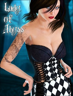 Lady Of Abyss Corset Dress