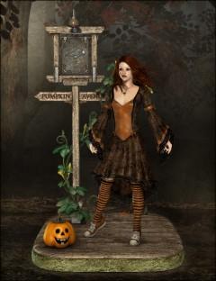 Pumpkin Avenue for V4