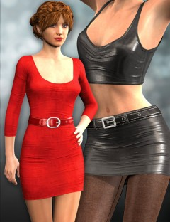 Super Dress and Leggings for Genesis 2 Female(s)