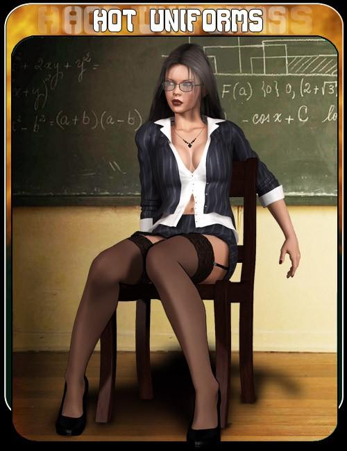 Hot Uniforms Teacher