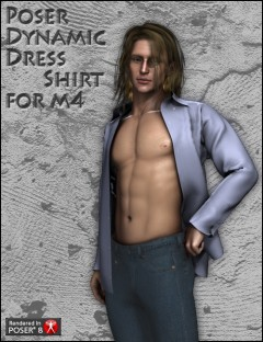 Poser Dynamic Dress Shirt for M4