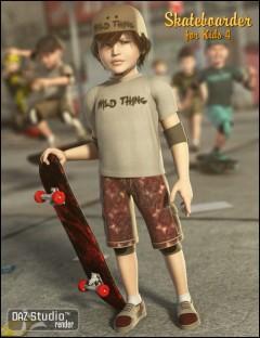 Skateboarder for The Kids 4