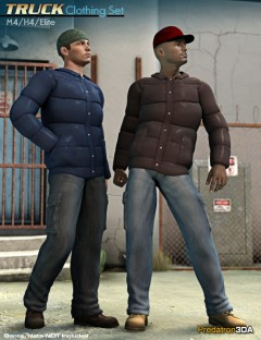 Truck Clothing Set