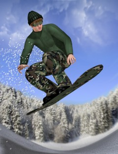 Snowboarder for M4