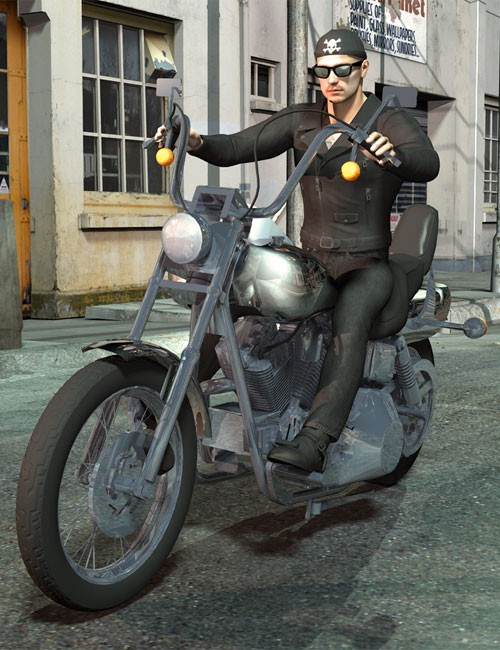 Born to be Wild Biker Outfit for Michael 4