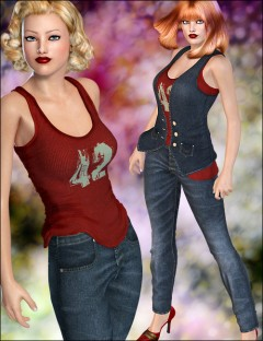 Tres Chic for Victoria 4 Elite and Aiko 4