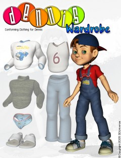 3D Universe's Dennis:Wardrobe