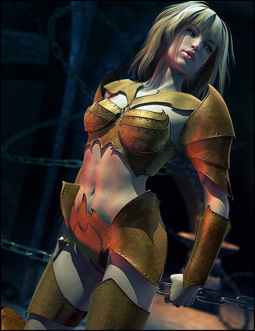 Tenera Morphing Armor for Genesis 2 Female(s)