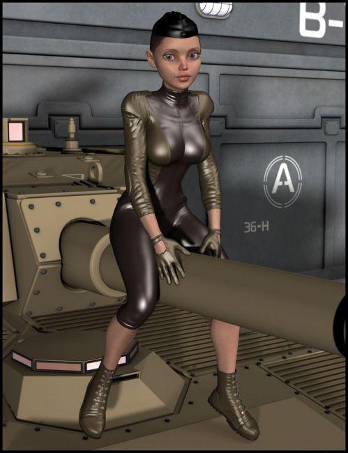 Girl Sergeant for Genesis 2 Female(s)