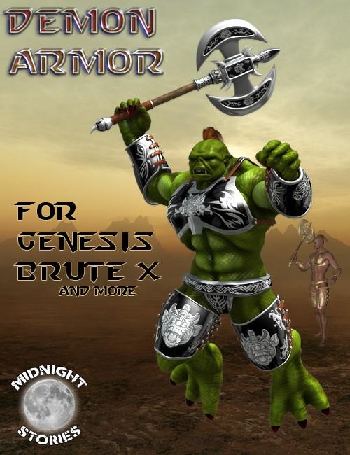 Demon Armor for Genesis Brute X