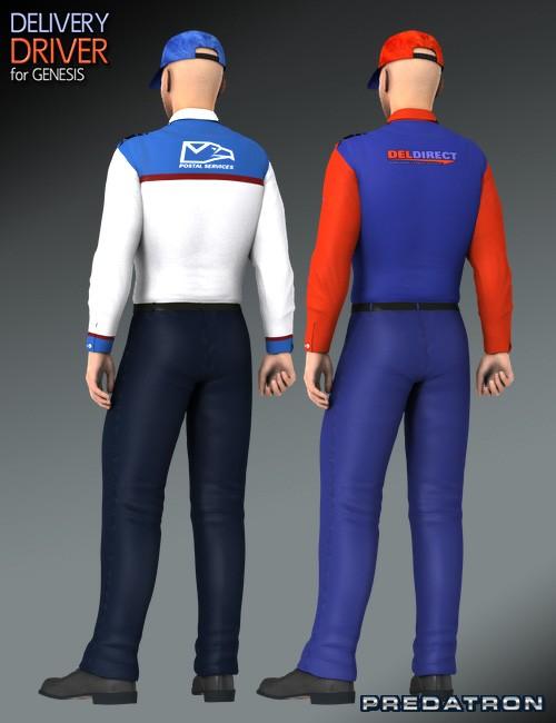 delivery driver uniforms - photo #4