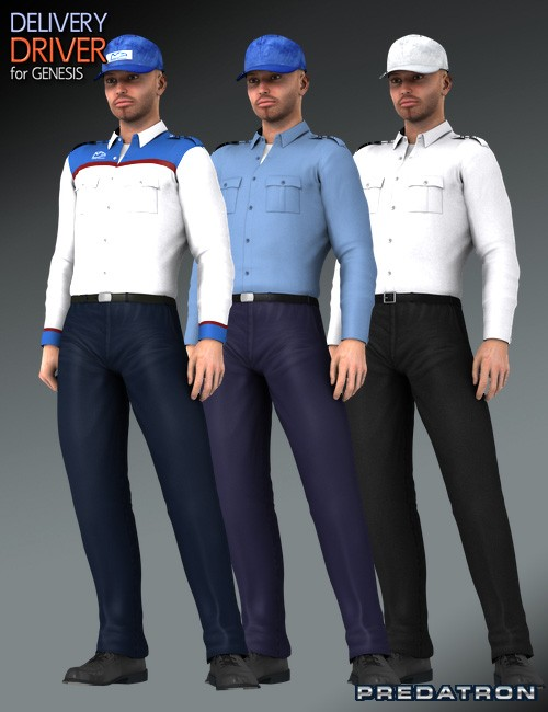 delivery driver uniforms - photo #1