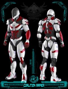 Coalition Rapier Armor