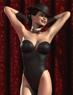 Simply Sexy: Pinup Girl Outfit for V4
