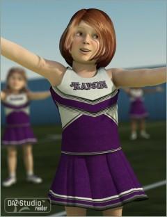 K4 Cheerleader Outfit