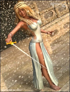 The Warrior Princess Gown