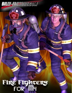 M4 Fire Fighters Set