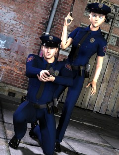 Real World Heroes Police Officer M4 H4