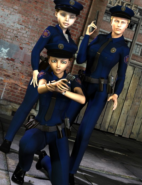 Real World Heroes Police Officer V4 A4 G4