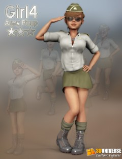 Girl 4 Army Pinup