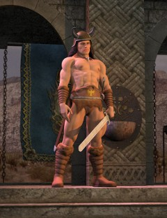 Barbarian Outfit for M4