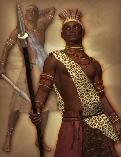 Zareb Tribal Clothes For M4 Uniforms Costumes For Daz