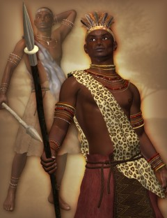 Zareb Tribal Clothes for M4