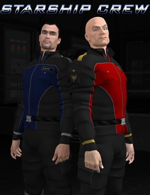 Starship crew for MOS Invasion