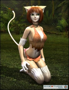 Catgirl for Aiko 4 and Victoria 4
