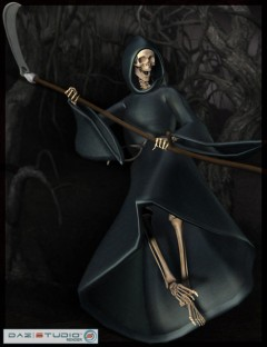 Reaper for the DAZ M3 Skeleton