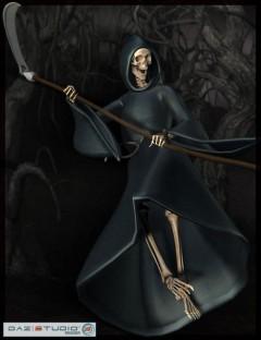 Reaper for the DAZ M3 Skeleton