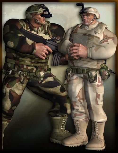 Modern Desert Soldiers for the Freak