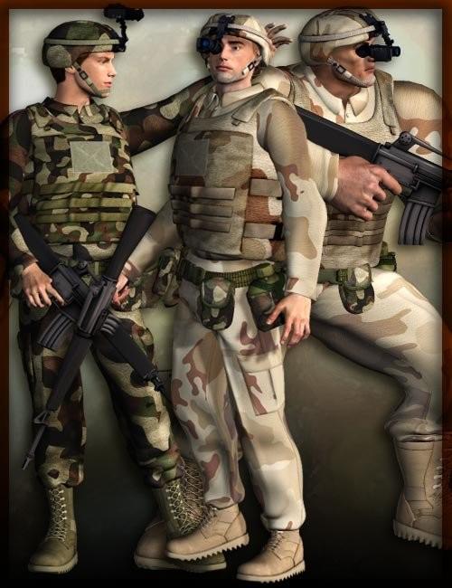 Modern Desert Soldier Bundle