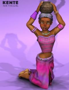 Kente Clothing for the Girl