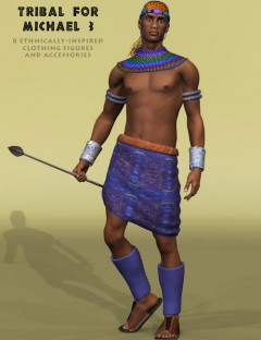 Tribal Clothing for Michael 3