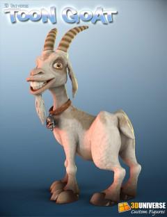 3D Universe Toon Goat