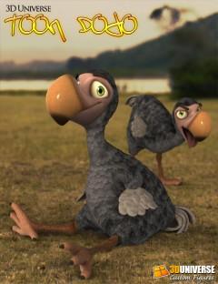 3D Universe Toon Dodo