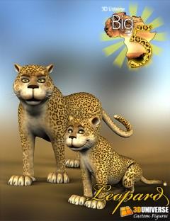 Toon Big 5 Leopard