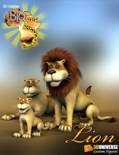 Toon Big 5 Lion