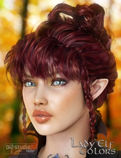 Colors for Lady Elf Hair