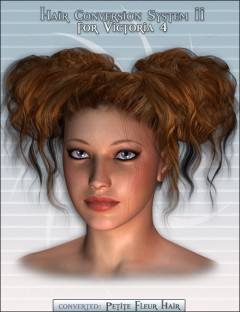 Hair Conversion System II for Victoria 4